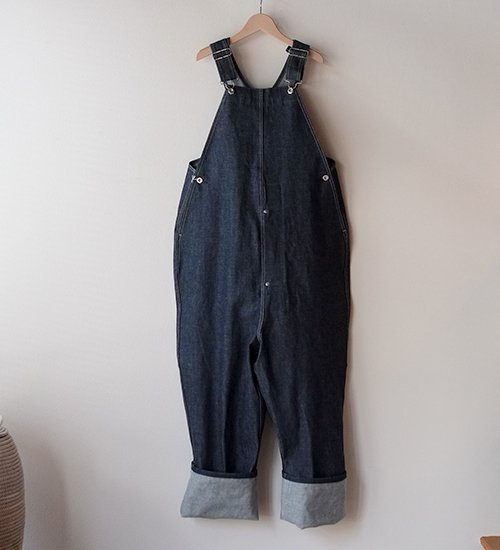 TUKI type-2 Denim Pants salopette
