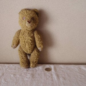 ハンガリー テディベアー hungary antique teddy bear old vintage