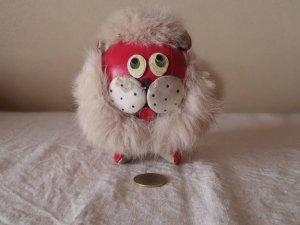 ハンガリー 小さなライオン お人形 ビンテージ  赤 hungary vintage lion toy doll red