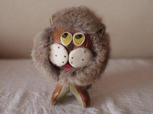 ハンガリー 小さなライオン お人形 ビンテージ  茶 hungary vintage lion toy doll brown