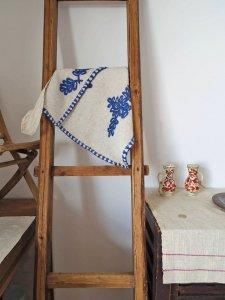ルーマニア 刺繍 羊飼いの斜めがけビッグバッグ Romania irasos shepherd bag embroidery