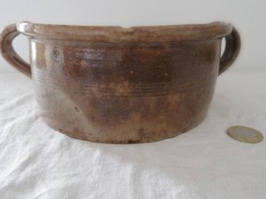 ハンガリー 陶器の焼型 ケーキ型 Hungary pottery cake pan mold