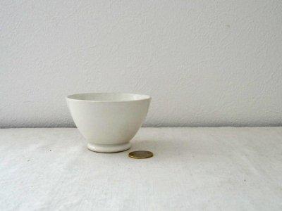 イタリア 白い陶器の小さなボウル Italia laveno porcelan bowl small