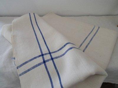 ハンガリー リネン 麻 手織り キャンバス ビンテージ クロス 150X130 イニシャル 刺繍 hungary clothe linen hemp
