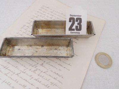 チェコ 長方形 お菓子の型 クッキー型 モールド 珍しいハンドメイド材料・Mold Mould rectangle vintage