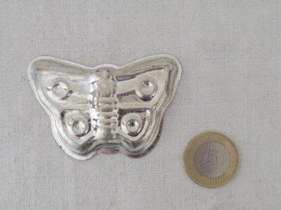 チェコ 蝶 2 お菓子の型 クッキー型 モールド 珍しいハンドメイド材料・Mold Mould butterfly vintage