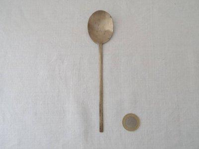 韓国 古い 真鍮のスッカラ 1 Korea vintage spoon brass