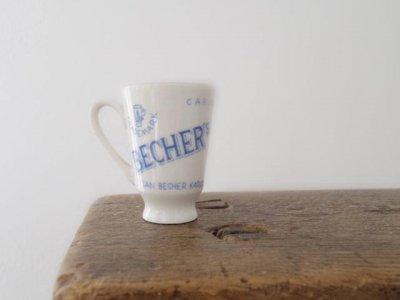 チェコスロバキア 陶器のショットグラス・Czechslolovakia porcelain shot glass