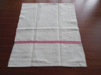 ハンガリーの嫁入りタオル ハーフ 1 dead stock hungary original linen towel cloth
