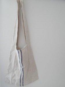 リネンの穀物袋 羊飼いのバッグ 1 vintage grain sac shepherd bag