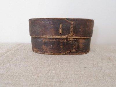 スウェーデン スウェープアスク 曲げ木の箱 大 Sweden Svepask antique