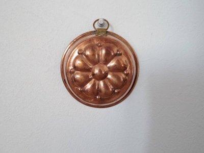 銅 焼き菓子型 小 花 1・Copper Mold Mould small flower