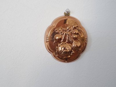 銅 焼き菓子型 野菜 1・Copper Mold Mould small vegetable