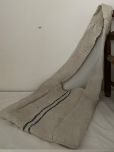 リネンの穀物袋 羊飼いのバッグ 2 vintage grain sac shepherd bag