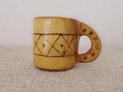スウェーデン 木のコップ ククサ 1973 Sweden wooden cup