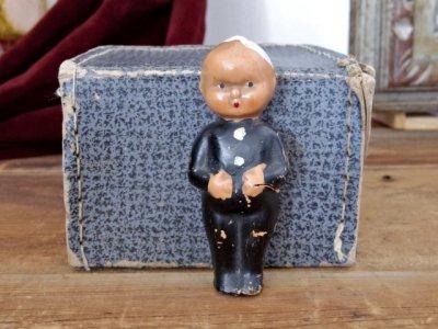 ハンガリー  小さな司祭さま  Hungary Priest doll vintage