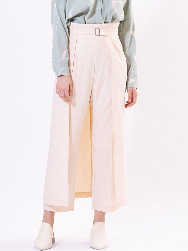 [UN-SOPHIE]スカートベルトパンツ
