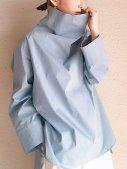 [UN-SOPHIE]'21SS ハイネックストレッチシャツ
