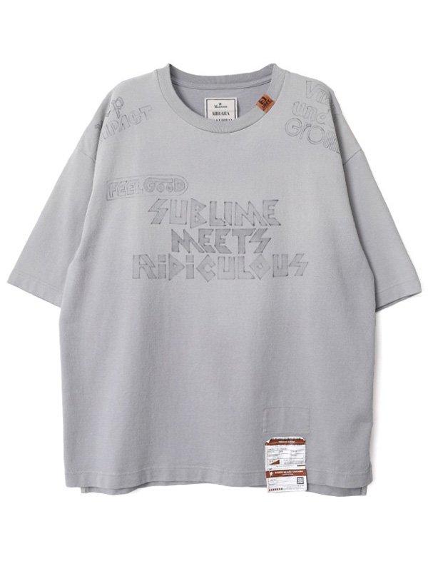 [MAISON MIHARA YASUHIRO]S.M.R Printed T-shirt