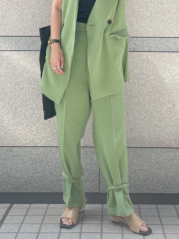 [ADDRESS]裾絞り2wayパンツ