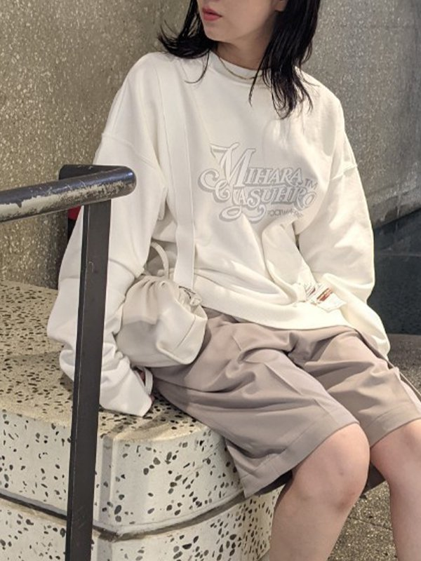 [MAISON MIHARA YASUHIRO]Suspender Pullover