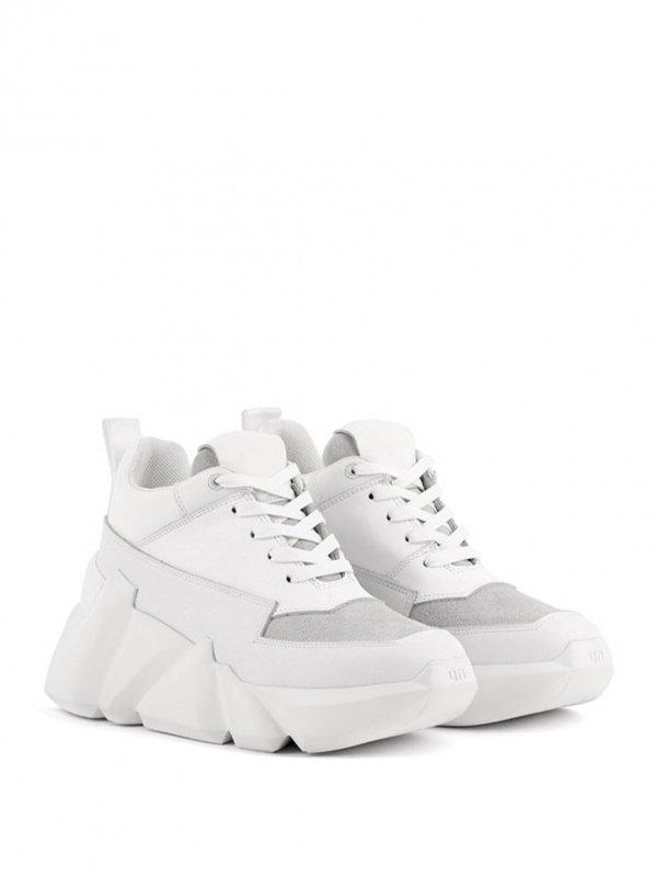 [UNITED NUDE] Space Kick Max Women Grey White