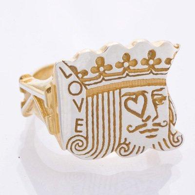 KING ring gold