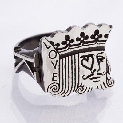 KING ring black