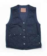 LOSTCONTROL<BR> QP Denim G-VEST(BLACK) 【SOLD OUT】<img class='new_mark_img2' src='https://img.shop-pro.jp/img/new/icons50.gif' style='border:none;display:inline;margin:0px;padding:0px;width:auto;' />