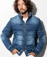 1PIU1UGUALE3 RELAX <BR>JOG DENIM RELAX DOWN STAND TRACK JKT SOLD OUT<img class='new_mark_img2' src='https://img.shop-pro.jp/img/new/icons50.gif' style='border:none;display:inline;margin:0px;padding:0px;width:auto;' />