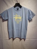 STUSSY KIDS <BR>Kids Big Cities Tee(Baby Blue) 【SOLD OUT】<img class='new_mark_img2' src='https://img.shop-pro.jp/img/new/icons50.gif' style='border:none;display:inline;margin:0px;padding:0px;width:auto;' />