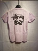 STUSSY KIDS <BR>Kids Dice Tee(Light Lavender)【SOLD OUT】<img class='new_mark_img2' src='https://img.shop-pro.jp/img/new/icons50.gif' style='border:none;display:inline;margin:0px;padding:0px;width:auto;' />