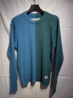 <img class='new_mark_img1' src='https://img.shop-pro.jp/img/new/icons15.gif' style='border:none;display:inline;margin:0px;padding:0px;width:auto;' />BUENAVISTA <BR>2 COLORS KNIT(BLUE×D-BLUE)