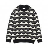 White Mountaineering<BR> TRIANGLE JACQUARD MOCK NECK KNIT  【SOLD OUT】<img class='new_mark_img2' src='https://img.shop-pro.jp/img/new/icons50.gif' style='border:none;display:inline;margin:0px;padding:0px;width:auto;' />