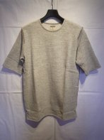 LOSTCONTROL<BR> French Army SS Sweat (Heather Gray) 【SOLD OUT】<img class='new_mark_img2' src='https://img.shop-pro.jp/img/new/icons50.gif' style='border:none;display:inline;margin:0px;padding:0px;width:auto;' />