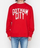 <img class='new_mark_img1' src='https://img.shop-pro.jp/img/new/icons35.gif' style='border:none;display:inline;margin:0px;padding:0px;width:auto;' />NUMBER (N)INE<BR> GOTHAM CITY_LARGE SWEATSHIRT(RED)