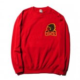 <img class='new_mark_img1' src='https://img.shop-pro.jp/img/new/icons15.gif' style='border:none;display:inline;margin:0px;padding:0px;width:auto;' />CALEE<BR>INDIAN CREW SWEAT(RED)