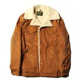<img class='new_mark_img1' src='https://img.shop-pro.jp/img/new/icons15.gif' style='border:none;display:inline;margin:0px;padding:0px;width:auto;' />CALEE<BR>FAKE SUEDE RANCH COAT