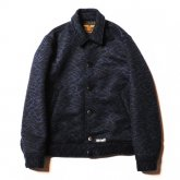 <img class='new_mark_img1' src='https://img.shop-pro.jp/img/new/icons15.gif' style='border:none;display:inline;margin:0px;padding:0px;width:auto;' />CALEE<BR>DOUBLE JACQUARD WAVE PATTERN SPORTS JACKET
