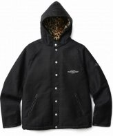 CRIMIE <BR>MILITARY HOODED BOA PARKA(BLACK) 【SOLD OUT】<img class='new_mark_img2' src='https://img.shop-pro.jp/img/new/icons50.gif' style='border:none;display:inline;margin:0px;padding:0px;width:auto;' />