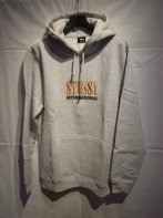 <img class='new_mark_img1' src='https://img.shop-pro.jp/img/new/icons15.gif' style='border:none;display:inline;margin:0px;padding:0px;width:auto;' />STUSSY <BR>Int. Sun App Hooded Sweat(Gray Heather)