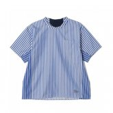 White Mountaineering<BR> STRIPE PULLOVER HALF SLEEVES SHIRT 【SOLD OUT】<img class='new_mark_img2' src='https://img.shop-pro.jp/img/new/icons50.gif' style='border:none;display:inline;margin:0px;padding:0px;width:auto;' />