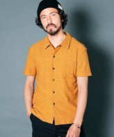 <img class='new_mark_img1' src='https://img.shop-pro.jp/img/new/icons15.gif' style='border:none;display:inline;margin:0px;padding:0px;width:auto;' />Magine<BR>VINTAGE MINI PILE CUT SHIRT S/S(MUSTARD)