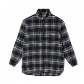 White Mountaineering<BR>CHECK SHAGGY BIG PULLOVER SHIRT 【SOLD OUT】<img class='new_mark_img2' src='https://img.shop-pro.jp/img/new/icons50.gif' style='border:none;display:inline;margin:0px;padding:0px;width:auto;' />