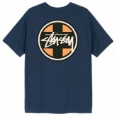 <img class='new_mark_img1' src='https://img.shop-pro.jp/img/new/icons15.gif' style='border:none;display:inline;margin:0px;padding:0px;width:auto;' />STUSSY <BR>Cross Dot Tee(NAVY)