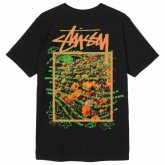 <img class='new_mark_img1' src='https://img.shop-pro.jp/img/new/icons15.gif' style='border:none;display:inline;margin:0px;padding:0px;width:auto;' />STUSSY <BR>Super Bloom Tee(BLACK)