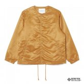 White Mountaineering<BR> GORE-TEX INFIIUM NO COLLAR COACH JACKET(CAMEL)【SOLD OUT】<img class='new_mark_img2' src='https://img.shop-pro.jp/img/new/icons50.gif' style='border:none;display:inline;margin:0px;padding:0px;width:auto;' />