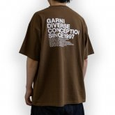 GARNI <BR>Origin Tee (BROWN)【SOLD OUT】<img class='new_mark_img2' src='https://img.shop-pro.jp/img/new/icons50.gif' style='border:none;display:inline;margin:0px;padding:0px;width:auto;' />