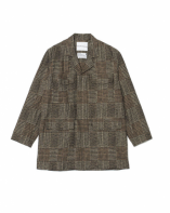 White Mountaineering<BR> GLEN CHECK ENGINEER COAT【SOLD OUT】<img class='new_mark_img2' src='https://img.shop-pro.jp/img/new/icons50.gif' style='border:none;display:inline;margin:0px;padding:0px;width:auto;' />