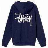 <img class='new_mark_img1' src='https://img.shop-pro.jp/img/new/icons15.gif' style='border:none;display:inline;margin:0px;padding:0px;width:auto;' />STUSSY <BR>Basic Stussy Zip Hooded(NAVY)